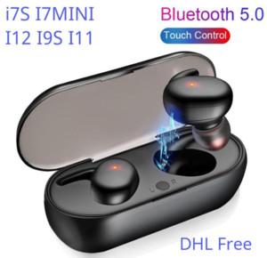 DHL 무료 무선 이어폰 블루투스 Y30 TWS I7S I7MINI i12 / i11 / i9s / inpods 12 무선 블루투스 헤드폰 헤드셋 이어폰 i100i200i30i20