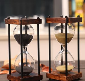 15 Minutes Hourglass Sand Timer For Kitchen School Modern Wooden Hour Glass Sandglass Sand Clock Timers Home bbyVjt yh_pack