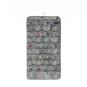 Cepler Küpe Yüzükler Bilezikler Asılı Saklama Torbaları Toz Geçirmez Takı Duvar Askı Organizatör Vitrin Kılıfı 80 Izgaralar DHC5711