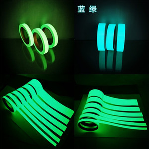 2016 Luminous Stripe Adhesive Tapes Home Stage Light Storage Glow Non Slip Safetytape Sticker Multi Specification Solid Color 10 65cy8 M2