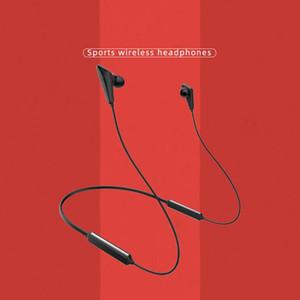 Q5 Плюс Спорт Bluetooth Беспроводные наушники с шейным ободом с стерео микрофоном Микрофон с шумоподавлением 68Hrs рабочего времени