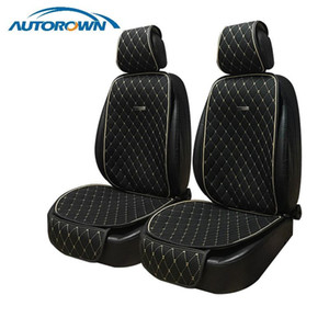 AUTOROWN Natural Flax Car Seat Cushion Universal Size Linen Fabric Seat Cover Auto Accessories Summer Automobile Covers