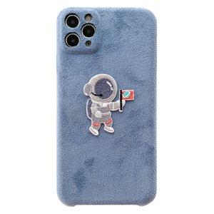 IPhone 11 cas concepteur phonecase mode phonecase cas brodé couple téléphone astronaute pour IPhone 11Pro / MAX / XS