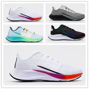 Zoom Pegasus 37 Turbo 2 Black Gunsmok Mens Running Shoes Blue Ribbon Zoomx 4 Próximo Betrue Sports Mulheres Sneakers