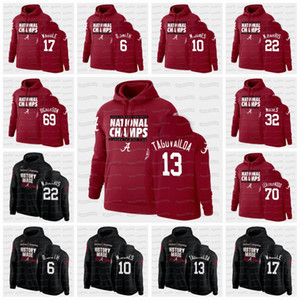 Alabama Crimson Tide 2020 National Champions TUA THAYOVAILOA Mac Jones Devonta Smith Najee Harris Jaylen Waddle tut NCAA Hoodie Jersey