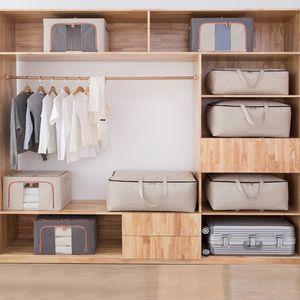 Der heiße Verkauf 2020 Großhandels Saubere 600D Oxford Folding Car Storage Box Bins für Kleidung Spielzeug und Bettwäsche