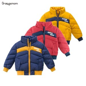 New ARRIVE Children's Clothing Winter Boys Coat Boys Jacket Thick Long-sleeved fashion Cotton Clothes Infant Winter Coat 201127