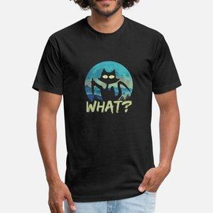 Cat What? Murderous Black Cat With Knife Halloween T Shirt Classic Unique Sportswear Tracksuit Hoodie Sweatshirt