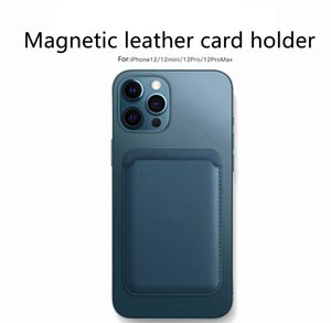 Universal Phone Back Slot Wallet Card For Iphone 12 Pro Max 12 Mini Case Luxury Leather Magnetic Pouch jllxUD yyysports