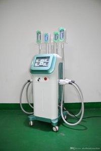 360 gradi Cryo Fat Rduce Blocking Machine 5 Maniglie Insieme Lavorando con DOBULE CHINS Ridurre le maniglie Cryolipolysis 360 gradi Cryo Machine