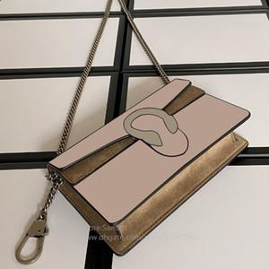 Caliente vende moda real de las mujeres de cuero del hombro del bolso del cambio carpetas de las mujeres para los hombres y las mujeres bolso de la cintura carta clásico bolso crossbody llavero