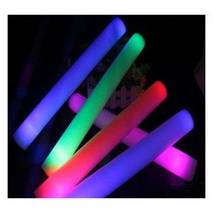 Led Light Sticks New Foam Puntelli Concerto Party Lampeggiante LED Light Luminoso Sticks Christams Festival Childr Bbycsy Packing2010