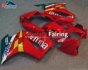 Para Honda VFR800 Cuerpo de Motocicleta Red VFR 800 2005 2006 2007 2010 2011 2011 2012 Faules de Aftermarket Parts Carreying (moldeo por inyección)