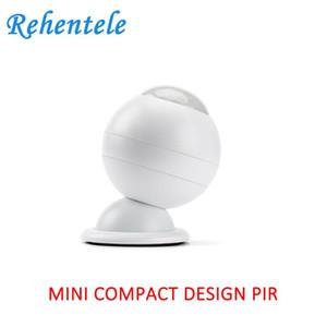 Akülü WiFi Tuya Mini PIR Dedektör Ev Alarm Sistemi Otomasyonu 2x CR123A 3000mAh batarya Dahili Manyetik yükleyin