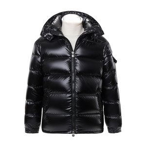 MZ Autumn Winter New Jacket maschile per uomo e donna innamorati 90 Down Cappello staccabile caldo addensato Maya Brillante Cappotto nero