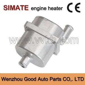 Auto coolant heater Rapid heating Security Easy to use With the pump 220V 1000W engine block heater auto parts