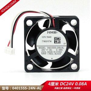 Original NMB 04015SS-24N-AL 4015 24V 0.08A impressora 4 centímetros ventoinha de arrefecimento 40x40x15mm refrigerador