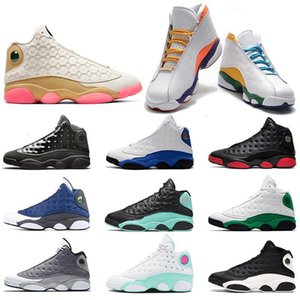 Shoes Basketball Flint 13 Jumpman 13s Reverse He Got Game Island Green Playground Mens Womens Trainers Sports Sneakers Runners with