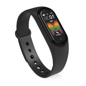 Новый M5 Сердечная скорость Prsure Кровь Кислород Многоязычный Bluetooth Интеллектуальный Спортивный Браслет Smar