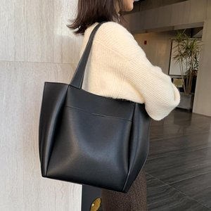 2021 New Hot Koop Women High Capacity Shoulder Bags Hoge Kwaliteit Pu Lederen Shoulder Top Handle Bags Dames Fashion Bag