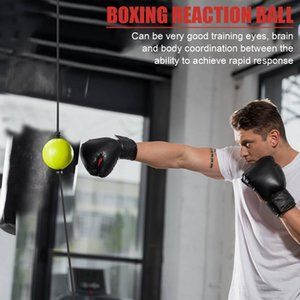 Kick Boxing Reflex Ball Head Band Fightings Speed ​​Training Punch Ball Muay Tai MMA Esercizio Aspirazione Attrezzatura Accessori