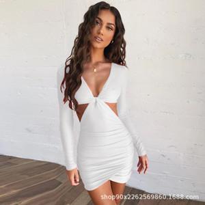 YTwf New Fashion BOHO Summer Long Maxi Women Party Dress Beach Dresses Sleeveless V neck Sundress Solid Sashes Dress