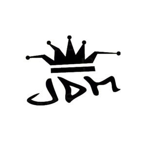 16 * 11.8cm autocollants de voiture JDM Drift King King drôle vinyle matrice vitre voiture vitrine autocollant autocollant autocollant décalque