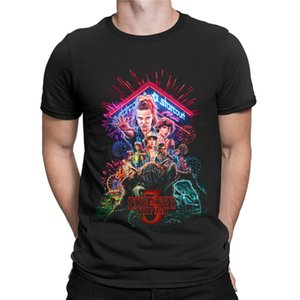 Sport neuer Sommer-T-Shirt Fremder Things Men Staffel 3 T-Shirt Männer Frauen 3D seltsamere Dinge T-Shirt Hipster-T-Shirts drucken