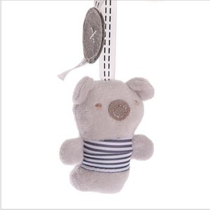 Cute funny newborn baby rattle toy animal bed bell and pram crane boutique car hanging #sktljal