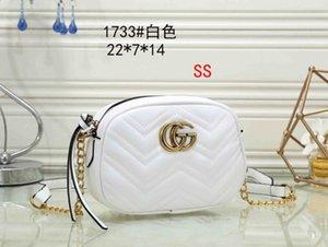2020 Tasarımcı çanta yüksek kaliteli Çantalar Cüzdan Ünlü Yeni Markalar çanta kadın çantası Crossbody çanta Moda Vintage deri Omuz 1733