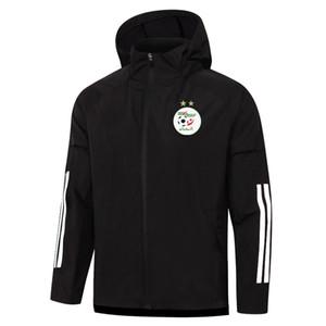 2020 2021 алжир куртка с капюшоном футбол спортивный костюм спортивный ветровка толстовки футбол тренировка костюм пальто брюки бег трикотаж Бег куртки