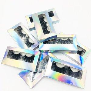 가짜 속눈썹 Yiowio 27mm 두꺼운 푹신한 maquillaje 메이크업 진짜 밍크 긴 속눈썹 Fauc Cils 벤더 도매 속눈썹 회사