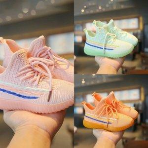 Ljhq crianças bekamille luz sapato para criança esporte sapatos outono meninas infantis bebê bordado borboleta crianças sapatos casuais sneakers estudante