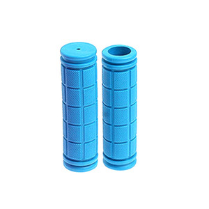 Borracha Bicicleta Handlebar Grips Capa BMX MTB Mountain Bicycle Handles Anti-Skid Bicicletas Bar Grips Fixed Gear Parts GH040 158 K2