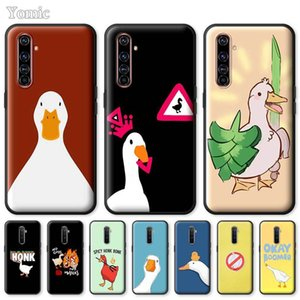 Goose or Not To Honk Case for Realme 6i 6S X2 5 6 7 X7 X50 Pro 5G C11 C3 XT 7i Tpu Black Soft Mobile Phone Bags Cover