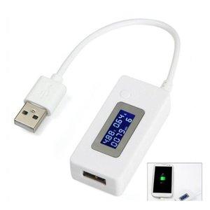 شاشة LCD البسيطة الإبداعية الهاتف USB تستر المحمولة الطبيب الجهد الحالي متر المحمول السلطة jllhis trustbde