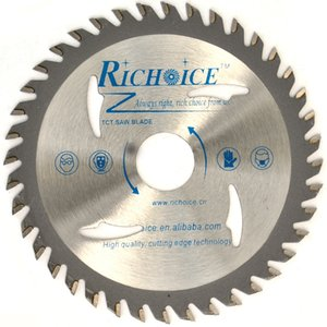 Richoice new type, 76mm TCT Saw Blade for Cutting Wood, Aluminum