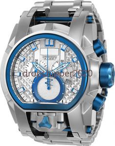 ساعة لا تقهرة نموذج: 25211 احتياطي الترباس زيوس الرجال السويسري الفولاذ المقاوم للصدأ مطلي المزدوج الطلب 52 ملليمتر ساعات الكوارتز الرجال
