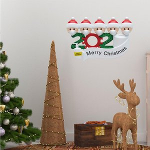 Christmas Stickers Santa Claus Sticker for Kids Survivor Family Stickers Christmas Decorations for Tags Crafts Window 1Set 4pcs DHE2347