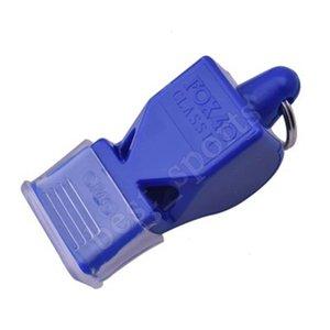 Açık Plastik Tilki 40 Futbol Futbol Basketbol Beyzbol Spor Hakem Survival Whistle Cyz884