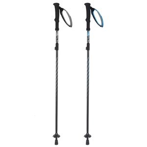 등산 트레킹 접이식 폴 4 절 스키의 지팡이 캠핑 Aotu At7562 휴대용 야외 요소 WMNI