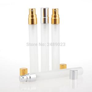 100pieces / Lot 10ML Parfum Глазурь Travel Spray Bottle для Perfume Портативный с Atomizador Refillable Алюминиевый насос