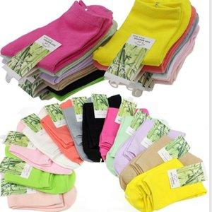 Calcetines de color de caramelo Moda Kid Sock Autumn Media Medias en Stock Mayorista Otro Otro Casa Textil EWD2116