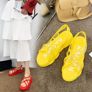 Summer Women Sandals Design Platform Sandals Comfortable Women Thick Sole Beach Shoes