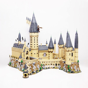 US EU In Stock 16060 Movie Series 6020Pcs Hogwartsins Magic Castle with 71043 Building Blocks Bricks Toys Gifts