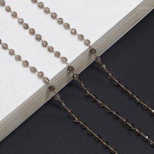 Mode Kristall Perlen Link Kette Sonnenbrille Schnur Halter Brille Halskette Lesen Glasse Hängende Halsband Kette 1