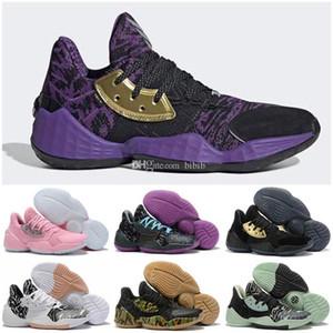 Hot Mens James Harden 4 Vol.4 4S IV MVP BHM Black Vol. 4 Kids Basketball Shoes Sports Training Sneakers