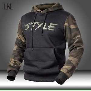 Camo Hoodies Autumn Sportswear Mens Long Sleeve Camouflage Hooded Shirt Mens Military Hoodie Clothing Male Casual Sweatshirt 201020