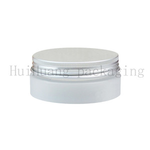 50pcs 50g empty round cosmetic cream PET jars,1.75 oz frosted containers for cosmetics packaging,empty plastic bottles