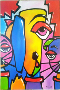 PABLO PICASSO art Home Decor Handpainted &HD Print Oil Paintings On Canvas Wall Art Pictures 7646